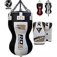 RDX Heavy Boxing Upper Cut Maize Body Punch Bag UNFILLED MMA UFC Training Muay Thai