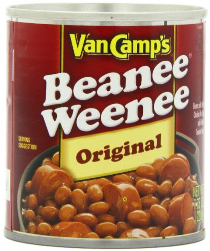 Price comparison product image Van Camp's Beanee Weenees,  7.75-Ounce Units (Pack of 24)