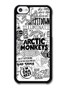 AMAF ? Accessories Arctic Monkeys Rock Band Illustration Graffiti case for iPhone 5C