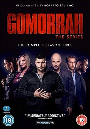 Gomorrah Season 3 DVD