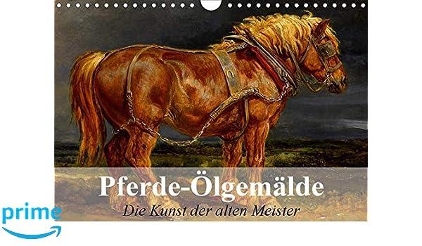 Pferde-Ölgemälde - Die Kunst der alten Meister Wandkalender ...
