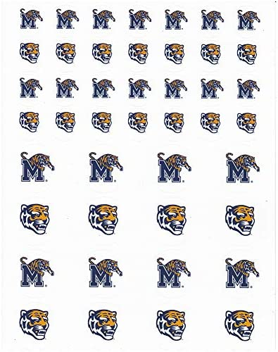 The Fanatic Group Stanford Cardinal Small Sticker Sheet 2 Sheets