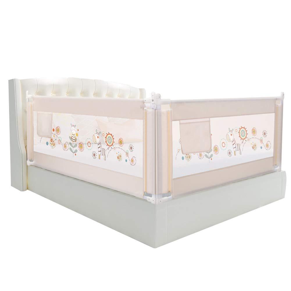 ベッドレール 幼児寝椅子、調節可能な縦型リフトチャイルドベッドサイドガードベッドレール用の86cm安全高さ (サイズ さいず : 2.2m) 2.2m  B07LF231DH