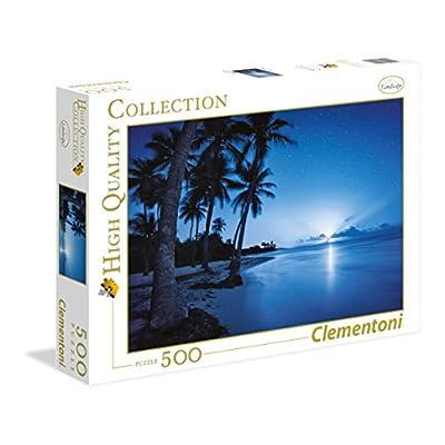 Clementoni 35023 Puzzle Tropical Beach Hefele 500 Pezzi Multicolore