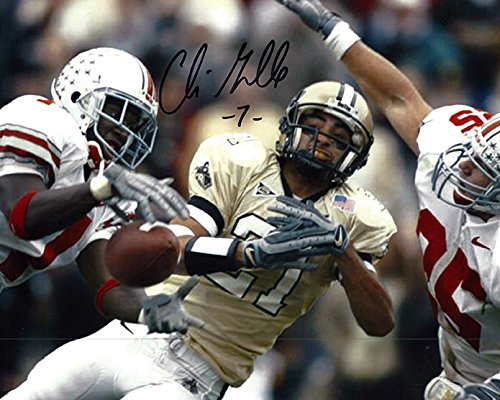 Chris Gamble Autographed Ohio State Buckeyes 8x10 Photograph - Certified Authentic - Autographed (Ohio State Buckeyes 8x10 Photo)
