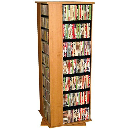 spinning dvd rack - 7