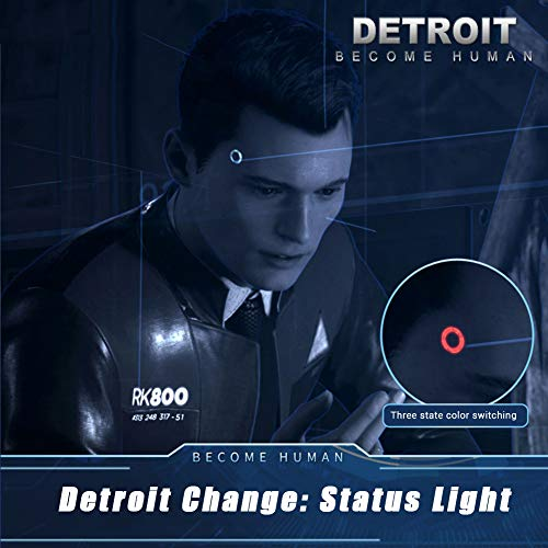 Detroit Become Human Led Kopf Lampe Connor Cosplay Prop Spiel
