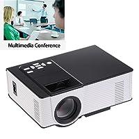CPX-314 Mini Proyector de vídeo LED Proyector de oficina Proyector de exterior / interior Proyector de apoyo 1080P a través de USB Drive TV portátil para Android iPhone Smartphone para el cine en casa