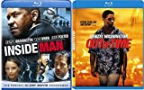 Inside Man + Out of Time Blu Ray 2 Pack Denzel Washington Action Movie Set