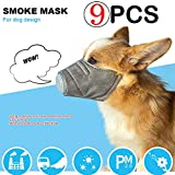 Flyalone 9PCS Dogs Mouth Mask, N95 Anti Dust Face