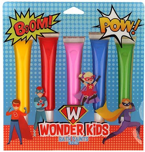 - GFA 5-Pack Wonderkids Colorful Fun Bath Paints