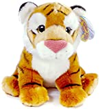 Theodore the Baby Malayan Tiger | 13 Inch Large Tiger Stuffed Animal Plush Cat | By Tiger Tale Toys