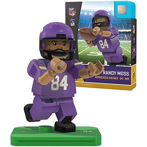 Minnesota Vikings Legends - Randy Moss Legends NFL OYO Minnesota Vikings Generation 4 G4 Mini Figure