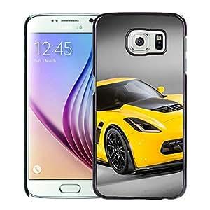 Samsung Galaxy S6 Case,100% brand new Chevrolet Corvette Z06 Black Case For Samsung Galaxy S6