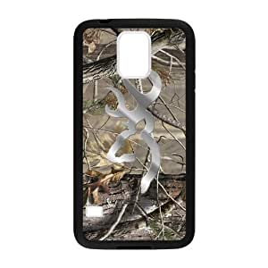 Hoomin Coolest Camo Browning Cutter Design Samsung Galaxy S5 Cell Phone Cases Cover Popular Gifts(Laster Technology)