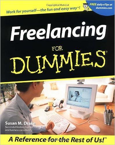 Online-PDF-Bücher kostenlos herunterladen Freelancing For Dummies 0764553690 by Susan M. Drake PDF