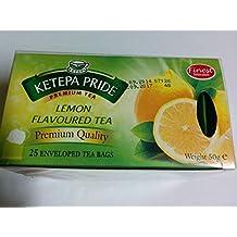 Kenyan Ketepa Pride Lemon Flavoured Enveloped Tea Bags 25 sachets (Kenya)