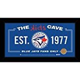 MLB Kids Cave Sign with Game Used Dirt from Rogers Centre