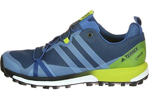 adidas Terrex Agravic Gtx, Zapatos de Senderismo para Hombre, Azul (Blu Azubas/Negbas/Limuni), 40 EU