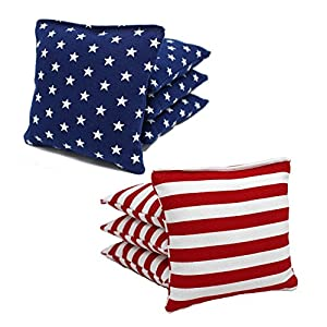 Free Donkey Sports ACA Regulation Cornhole Bags Choose From 25+ Colors (Stars/Stripes)