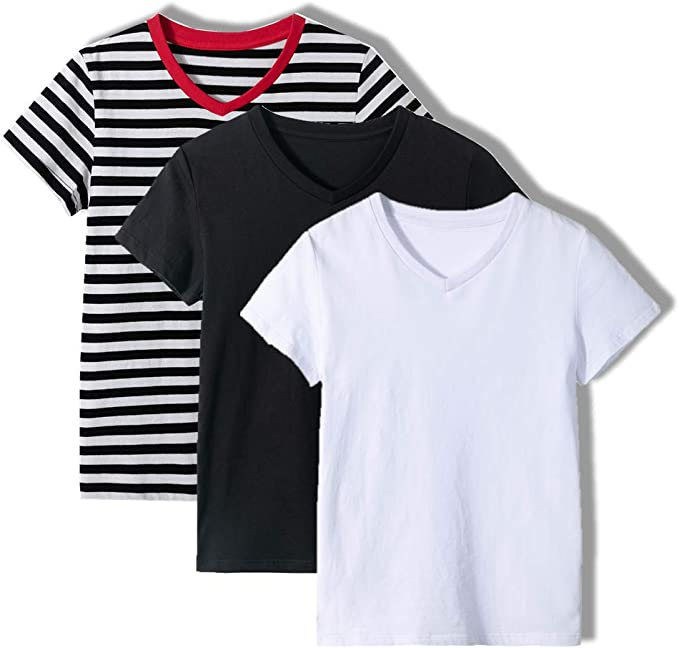 New Fruit of the Loom Kids Girls Value Cotton T Shirt