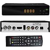 Master- Sintonizador digital de alta definición, con puerto USB y HDMI, escaneo automático, grabación directa para tus programas favoritos y con salida de audio digital para conectar a sistemas de teatro en casa