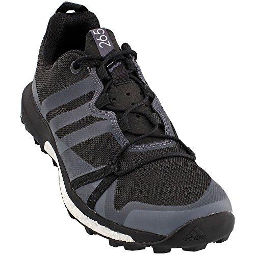 Adidas al aire libre de los zapatos corrientes de 2016 Terrex Agravic Trail - Af6152 (trauma verde / Utility Black/Black/Trace Grey
