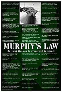 MURPHYu0027S LAW POSTER Funny RARE HOT NEW 24x36 Part 95