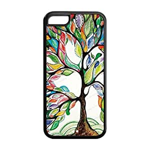 5C Phone Cases, Love Tree Hard Cover Case for iPhone 5C