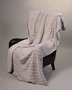 "Regal Comfort Sherpa Luxury Throw (Tawny Fox, 50"" x 70"")"