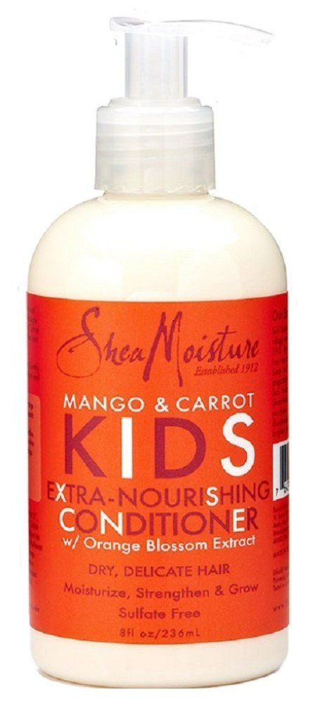 Shea Moisture Kids Conditioner 8 Ounce Mango/Carrot Extra Nourishing (236ml) (6 Pack) by Shea Moisture