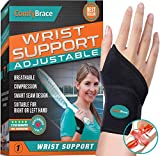 ComfyBrace-Premium Copper Lined Wrist support /Wrist Strap/Carpal Tunnel Wrist Brace/ Arthritis Hand Support
