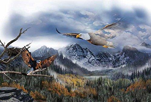- Eagle/Sky Panel - Call of The Wild Digital Print - 28