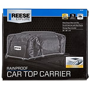 Reese Explore 1041100 Rainproof Car Top Carrier (15 Cubic Feet)