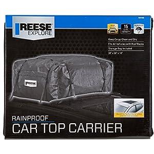 Reese Explore 1041100 15 cu. ft. Rainproof Car Top Carrier