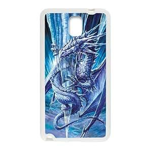 Frozen Ice Dragon White Samsung Galaxy Note3 case