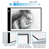 Tracing Light pad, Kids Toys for 2-12 year olds Boys and Girls A4 Ultra-Thin Portable LED Light Box Light-up Tracing Pad,Christmas Gifts and Top Toys for Boys and Girls Ages 6, 7, 8, 9,10