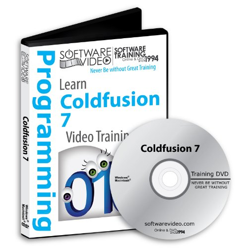Software Video Learn Macromedia ColdFusion 7 Training DVD Sale 60% Off training video tutorials DVD Over 6 Hours of Video Training