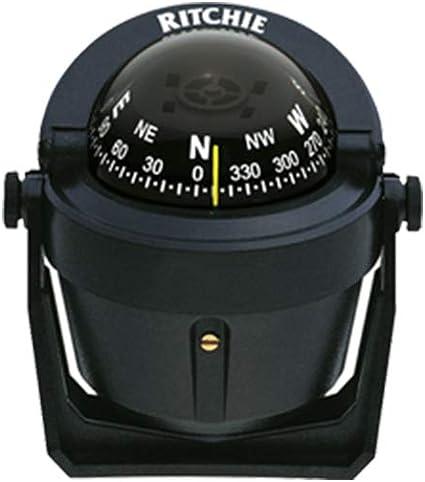 Ritchie B-51 Navigation Explorer Compass 2 3//4-inch Dial with Braket Mount Black