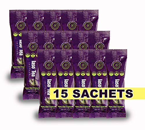 TLC Total Life Changes IASO Natural Detox Instant Herbal Tea - 15 Sachets Packaging May Vary Between Old & New in 2019 ...