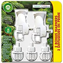 Air Wick Holiday Scented Oil Kit (2 Warmers + 5 Refills), Woodland Pine, Air Freshener