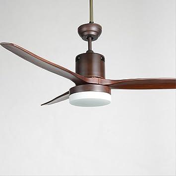 colorLED tres hojas de madera maciza cuchillo de trinchar hoja ventilador de techo lámpara de soporte de pared para pantallas LED, 26 W, con ventilador de control de pared lámpara de araña: