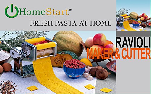 Ravioli Maker Pasta (HomeStart Ravioli Pasta Maker (Stainless Steel) (Ravioli Maker))