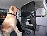 LAMEI SUV Car Dog Guard Pet Barrier - Blocks Dogs Access To Car Front Seats & Keep Dogs In Back Seat/Trunk