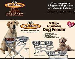 3-step Adjustable Pet Feeder