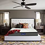 Luxurcozy Comfort Luxury 13 Inch Pillow Top Mattress Individually Pocketed Coil Spring Hybrid Mattress With CertiPUR-US Certified Foam, FULL