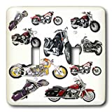 3dRose LLC lsp_5730_2 Light Switch Cover Picturing Harley-Davidson174; Motorcycles