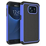 Galaxy S7 Case, SYONER [Shockproof] Defender Protective Phone Case Cover for Samsung Galaxy S7 (5.1', 2016) [Blue]
