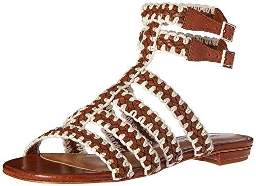 SCHUTZ Women Lorena Gladiator Sandal Saddle