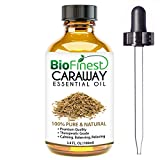 Biofinest Caraway Essential Oil - 100% Pure Undiluted, Premium Organic, Therapeutic Grade - Best for Aromatherapy, antioxidant, Boost Immune System, Soothe Headache & Fatigue - Free E-Book (100ml)